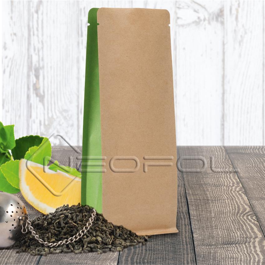 BOXpack   Kraftpapier   farbige Seitenfalte